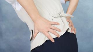 腰の痛みの方